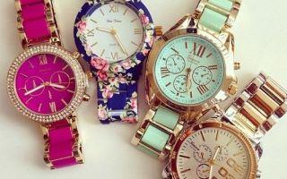 Модные модели женских часов