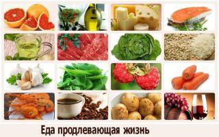 Травы и продукты для долгой жизни