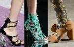 Модная обувь сезона весна-лето 2018