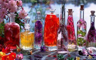 Духи, композиции ароматов
