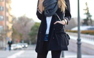 Теплые колготки: что выбрать, с чем носить