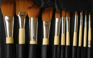 Правила хранения косметики и ухода за кистями для макияжа