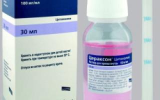 Назначение препарата Цефтриаксона