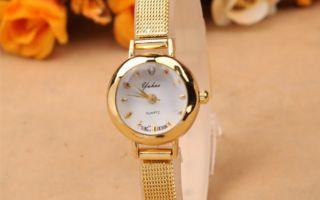 Женские золотые часы и современные реалии