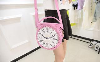 Сумка-часы – все мое время со мной