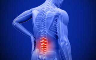 Какая причина может вызвать боли в спине