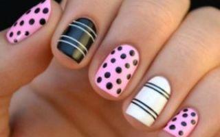 Ухоженные и красивые короткие ногти
