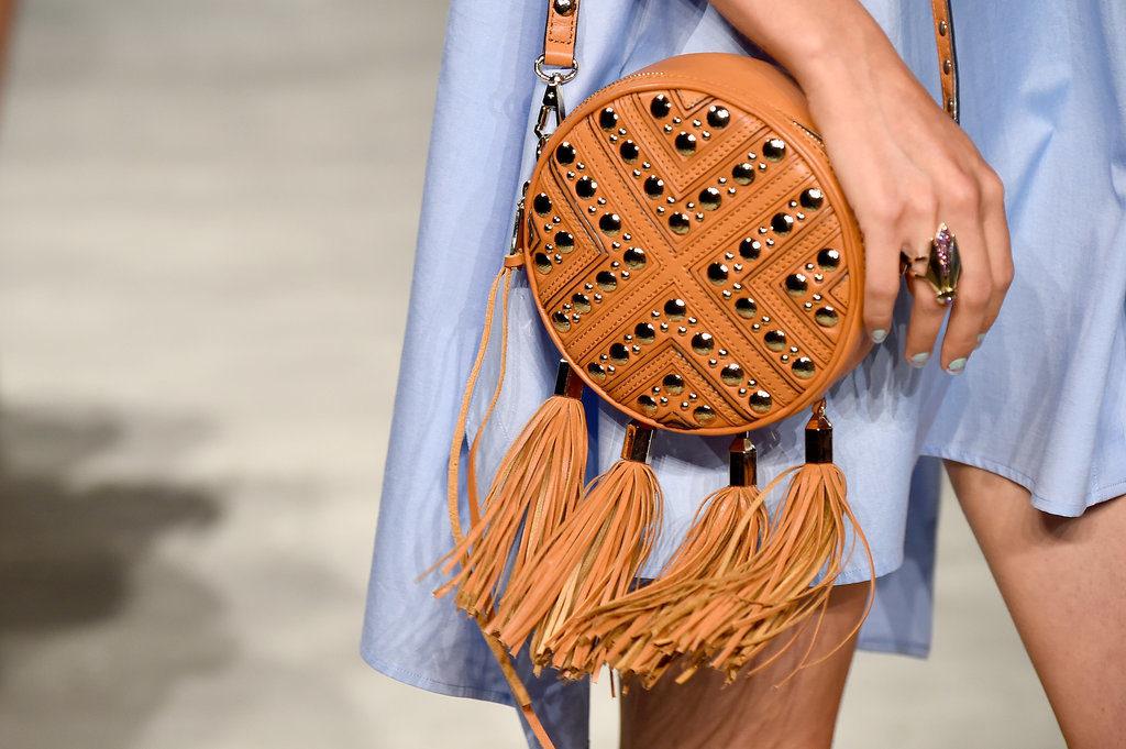 Необычная круглая сумка